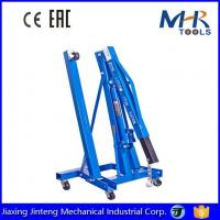 Buy cheap 2Ton Capacity Mobile Engine Hoist Lifter Hydraulic Engine Hoist Cherry Picker Shop Crane from wholesalers