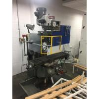 "Quality Bridgeport Turret Milling Machine, 9 x 42"" Table, With Rotocam Guard, Mitutoyo 3 Axis DRO for sale"