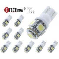 Buy cheap Jtech 10x 194 168 2825 T10 5-SMD White LED Car from wholesalers