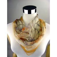 Cheap 100% Pure Silk Georgette Neck Hair Scarf wholesale