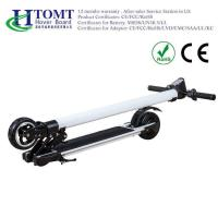 Cheap 20 Km Range Folding Electric Kick Scooter With Front And Rear Suspension 24V , 4.4A , 6.6A , 8.8A for sale