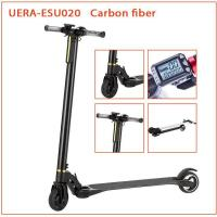 Cheap Carbon Fiber Folding Motorized Scooter 5 Inch Smart Self Balancing Battery Powered for sale