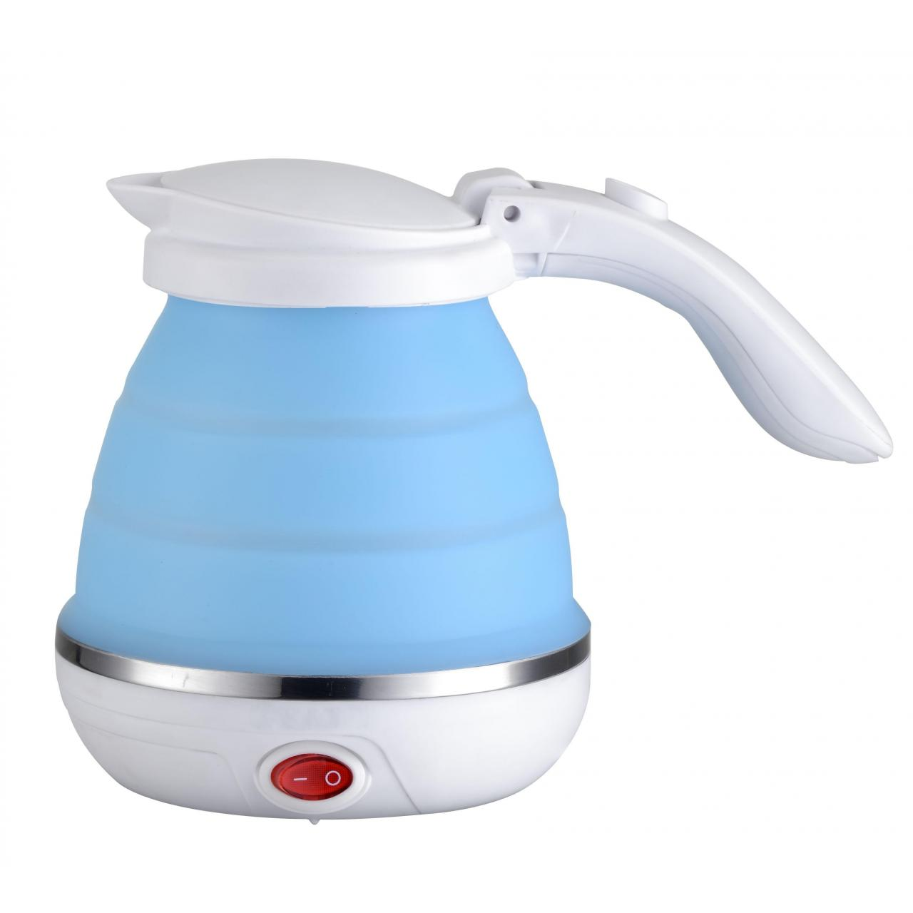 Cheap Stainless steel silicone foldable kettle wholesale