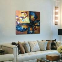 Cheap Decor Handpainted Butterfly Oil Painting on Canvas wholesale