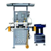 Automatic rubber valve shaft seal trimming machine