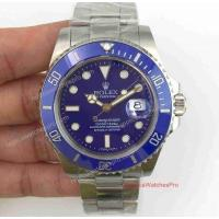 Cheap Noob Factory Replica Rolex Submariner Watch - SS Blue Ceramic 40mm - Upgraded Version wholesale