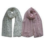 Cheap Fashionable Way Maternity Printed Nursing Scarf and Cover, Start Print wholesale