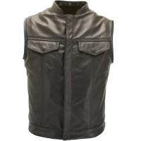 Cheap Sons of The Anarchy Style Biker Vest Custom- Made wholesale