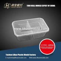 Cheap square container thin wall mould for dishware wholesale