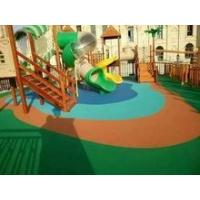 Cheap Full pour EPDM athletics track surfacing for professional playground wholesale