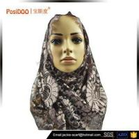 Cheap customized best quality newest design lace scarf wholesale