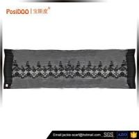 Cheap High quality Beautiful Knitted 100% Polyester italy design scarf wholesale