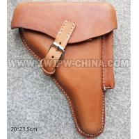 Cheap GERMAN MILITARY German WW2 Army Walther P08 Genuine Leather Holster (Brown) wholesale