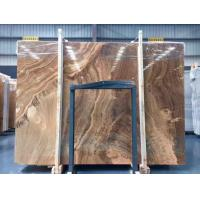 Cheap Yellow Wooden Marble Slabs wholesale