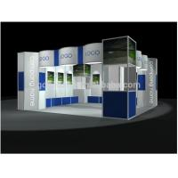 1.Customer booth 8-way column system