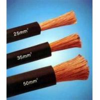 Cheap Copper Wire Rubber Insulated black natureal rubber flexible welding cable wholesale