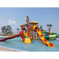 Cheap Jungle Theme Water Play System 4 Platform wholesale