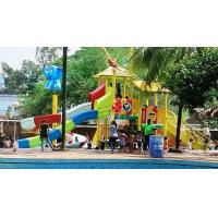 Cheap 5 Platform Jungle Theme Water Play System wholesale