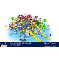 Cheap 8 platform Pirate Theme Water Play System wholesale