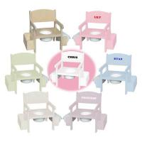 Cheap Wooden Potty Chair w/ Accessories (Select Color) wholesale