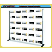 Adjustable backdrop banner stand