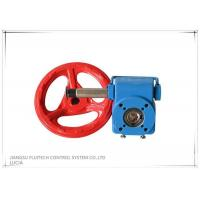 Blue Square Hole Valve Wheel Handle / Cast Iron Valve Handle With Special Grease