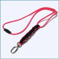Buy cheap New Style Pink Round Nylon Paracord Lanyard from wholesalers