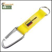 Buy cheap Fashion Silicon Logo Key Chain Holder Straps with Climbing Hook from wholesalers