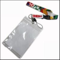 Cheap Big PVC ID Card Holder Polyester Lanyard Production from Zhanhong wholesale