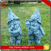 Cheap Reading girl statue concrete garden decoration for sale wholesale