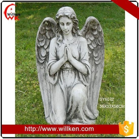 Quality Animal Statues garden cherubs angels statues for sale