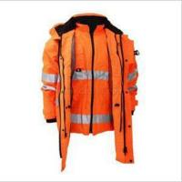 Safety clothing & Refleictive products 7 in 1 Safety Coat(Parka) DPA019