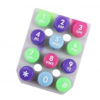 Cheap button Silicone rubber keypad wholesale