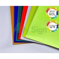 Cheap Flexible Solvent Or Eco-solvent Printing Self Adhesive Reflective Vinyl wholesale