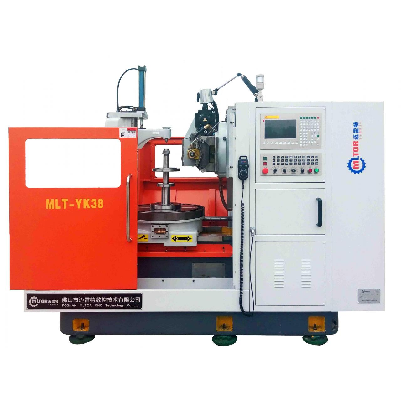 Buy cheap Gear hobbing machine for pellet mill roll shell MLT-YK38 from wholesalers