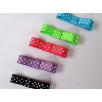 Clips and Bitty bow Item NO:Swiss dots clip