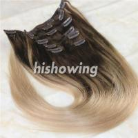 Cheap HAIRS (CLI-C-04) Clip In 2T Color #4&18 wholesale