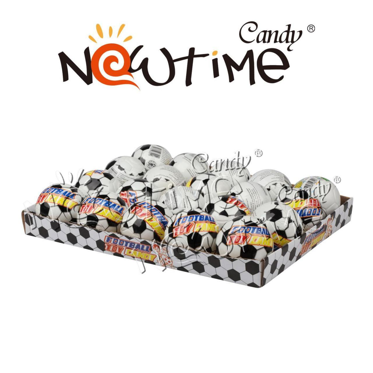 Cheap Toy Candy NTT17921 Football Toy with tattoo and gum wholesale