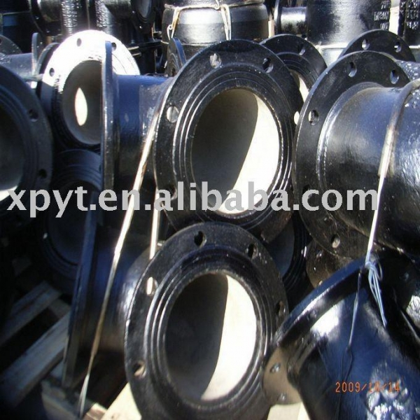 Ductile cast iron flange fittings of xzyt
