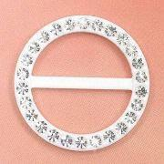 Cheap Round Belt Buckles, Decorated with Rhinestones, Used for Women's Belt and Garment wholesale