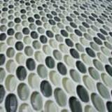 Oval Glass Mosaic Round Cycle Item