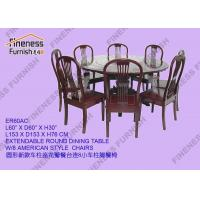 China TABLES Product NameEXTENDABLE ROUND DINING TABLE on sale