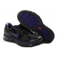 Cheap Kids Nike Air Max 2009 IV Black Purple wholesale