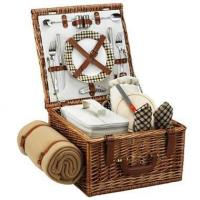 Cheap Picnic at Ascot - London Cheshire Basket for Two w BlanketItem #: 344503 wholesale