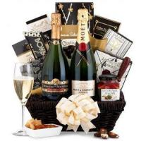 Cheap Basket Champagne Gift wholesale