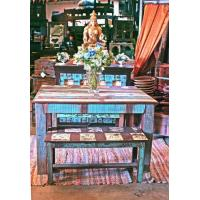 China Small Reclaimed wood dining set on sale