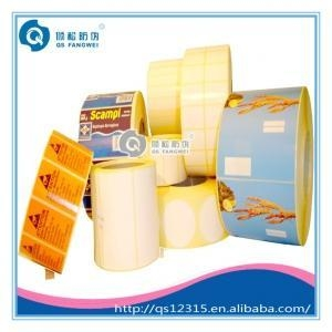 Quality Roll blank label sticker for sale