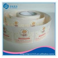 Cheap Customed roll adhesive label for wine wholesale