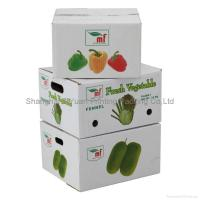 Cheap Fruit Corrugated Packaging Carton Boxes wholesale