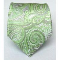 Cheap 100% Silk Woven Apple Paisley Tie wholesale
